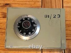 Unique EX MOD HMS Cornwall Safe Chubb Manifoil combination lock Mk IV Wall Safe