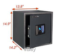 Us-36 Biometric Fingerprint Safe Combination Password Lock Vault Office Home Bio