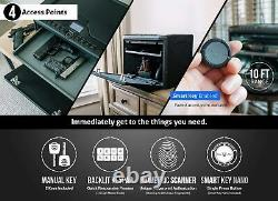 VAULTEK MXi Wi-Fi High Capacity Rugged Biometric Smart Safe Covert Black