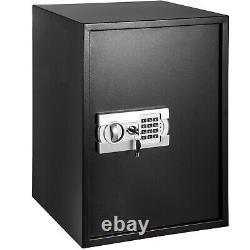 VEVOR Home Digital Safe Box 2 Cu Ft Fireproof Waterproof Security Keypad Lock