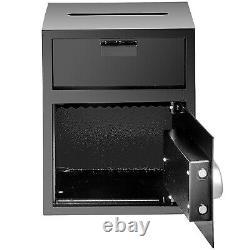 VEVOR Home Digital Safe Box Depository Drop Deposit Front Load Cash Vault Lock