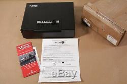 V-Line 1394-S FBLK Brute Quick Access Pistol Case Handgun Safe Heavy Duty