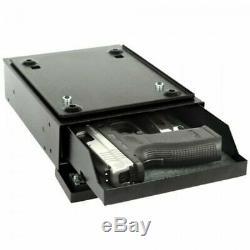 V-Line 2597-S Deskmate Under Desk Pistol Safe with Mechanical Lock