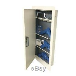 V-Line 41214-QVXL QuickVault Large Wall Safe with Mechanical Lock