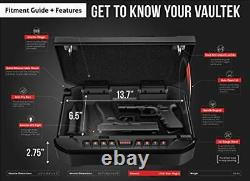 Vaultek Essential Series Quick Access Handgun Safe with Auto Open Lid Pistol
