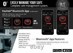 Vaultek SL20-BK Non-Biometric Slider Series Safe (Black)