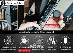 Vaultek SL20i-BK Biometric Slider Series Safe (Black)
