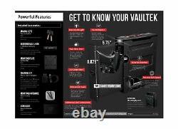 Vaultek Slider Series Rugged Smart Handgun Safe Quick Auto-Open Sliding Door