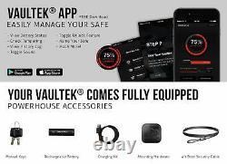 Vaultek VR10 Bluetooth Smart Handgun Safe Quick Access Pistol Safe with Auto
