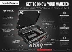 Vaultek VT10i-BK Biometric 10 Series Safe (Black)
