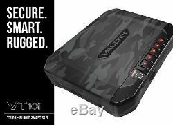 Vaultek VT10i Biometric Handgun Bluetooth Smart Safe Pistol Safe Urban Cam New