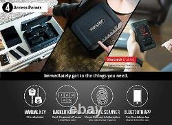 Vaultek VT10i-WT Biometric 10 Series Safe (White)
