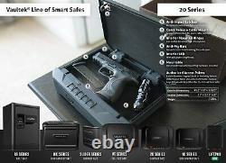 Vaultek VT20-BK Non-Biometric 20 Series Safe (Black)
