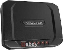 Vaultek VT20i-BK Biometric 20 Series Safe (Black) Open Box- One Key Only