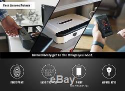 Vaultek VT20i Biometric Handgun Safe Bluetooth Smart Pistol Safe with Auto-Open