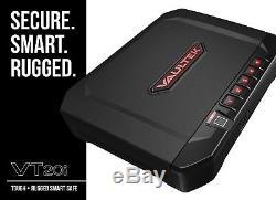 Vaultek VT20i Biometric Handgun Safe Smart Pistol Safe with Auto-Open Lid