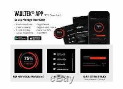 Vaultek VT20i Biometric Handgun Safe Smart Pistol Safe with Auto-Open Lid and
