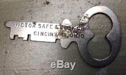 Victor Safe and Lock Company, Cincinnati, OH with Combination and Original Key