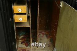 Victorian Antique Iron Safe, Yale Combination Lock Pat. 1880 #35242
