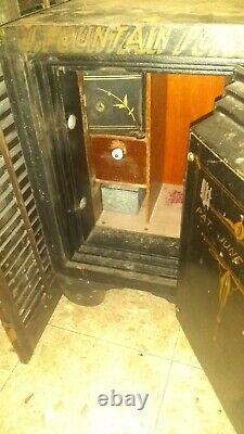 Vintage Alpine Safe And Locks Safe with Combination