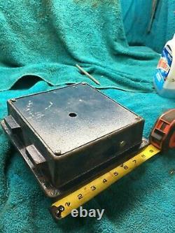 Vintage Armor Safe Combination Lock Box Dial Bank Vault Door Locks, Keys