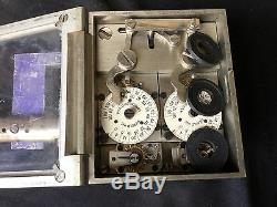 Vintage Diebold 2 Movement Time Lock with Combo Lock & Mounting HardwareLocksmith