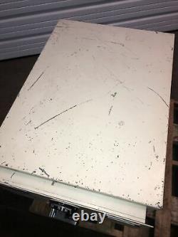 Vintage Mosler 2 Drawer File Cabinet Combination Lock Safe/File
