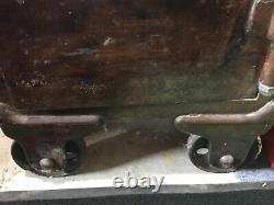 Vintage Syracuse Safe Co. Yale Combination Lock Rare Antique Floor Safe
