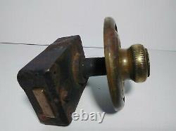 Vintage Yale Safe Combination Lock Dial and Box Replacement Locksmith As Is