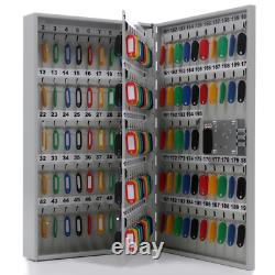 Wall Mounted 195 Key Secure Storage Steel Cabinet with Electronic Combination Lock