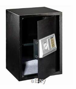 Wall Pistol Cabinet Security Safe Box Safety For Home Key Hidden Gun Digital