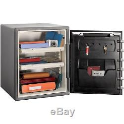 XXL Combination Safe Black Fireproof Lock Box Home Security Bolts NO TAX