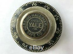 Yale Lock Co. Combination Lock Dial From Vault Door 1910's Rare