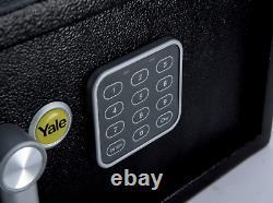 Yale YLV/200/DB1 Laptop Value Safe, Solenoid Simple keypad, 15 mm Steel Locking